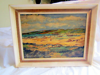 Vintage Oil On Board Of Tiree, Hebrides, Scotland