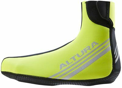 Altura Thermostretch II Waterproof Cycling Overshoes Hi Vis Yellow Large (9-11)