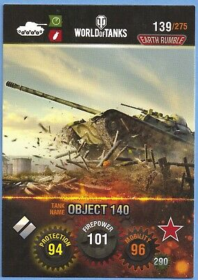 panini WORLD of tanks tradingcard #139 sowjetische panzer