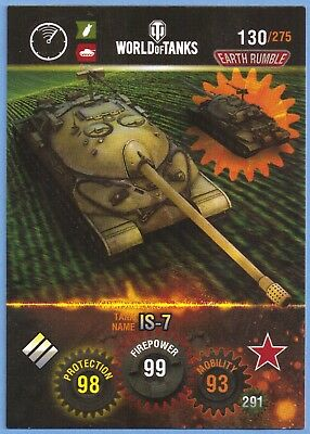 panini WORLD of tanks tradingcard #130 sowjetische panzer
