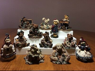 Boyd's Bears and Friends Figurines - a great colledtion of 12