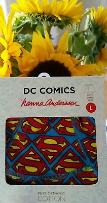 Nwt Hanna Andersson Underwear Boxer Brief Dc Comics Superman L 140 150 10 12