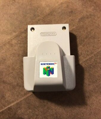 Official Nintendo 64 N64 Rumble Pak Pack! Works Great! Fast Shipping! Authentic!