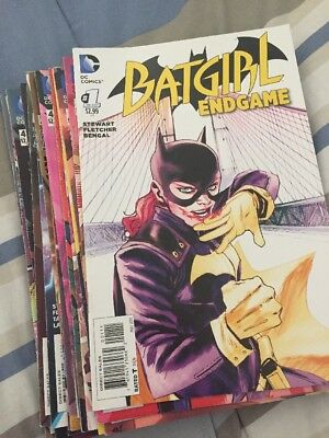 Batgirl - New 52 - 19 Comic Books #35-52