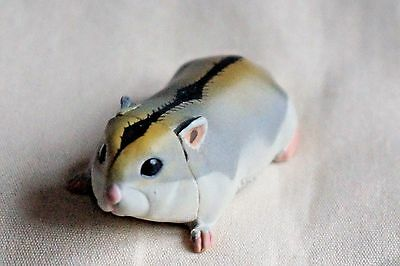 New JAPAN KAIYODO FURUTA Choco Egg Animal Pet Miniature Gray Hamster Mouse