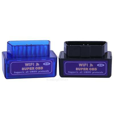 Super WiFi OBD2 Auto Car Diagnostic Scanner Scan Tool for iOS Android Windows PC