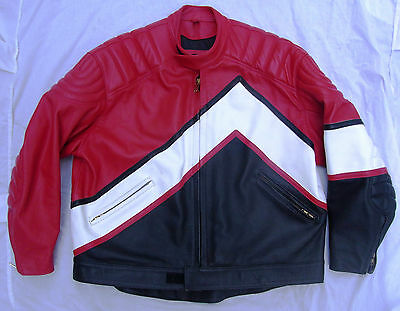 MOTORCYCLE / motor bike leather jacket by MARS leathers.Perfect order. Size 50