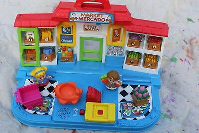 Fisher Price Little People market Mercado
