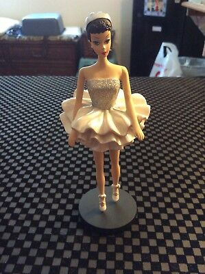 "Danbury Mint The Classic Barbie Figurine Collection ""1961 Ballerina"""