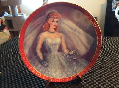 Danbury Mint 1959 Barbie Bride To Be Plate