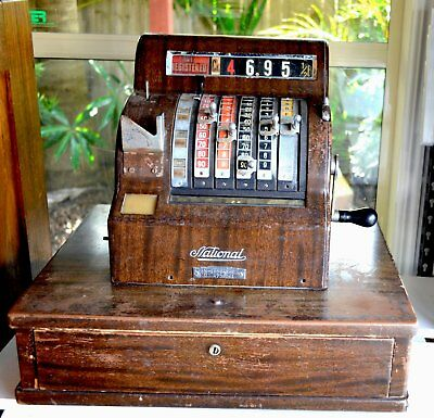 vintage ncr cash register