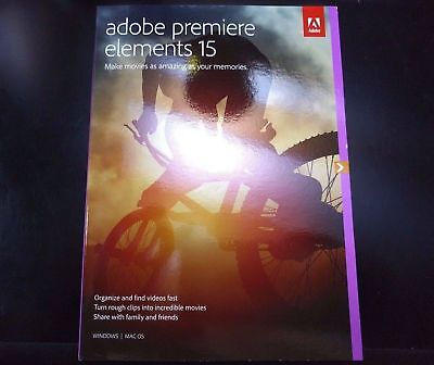 Adobe Premiere Elements 15 for Windows & Mac - Full Version