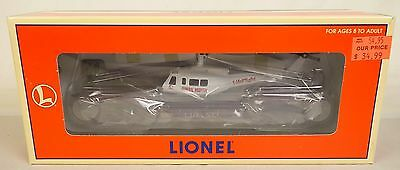 Lionel #6-16968--6461 Lionel Aviation Flatcar W/ertl Helicopter-New In Ob!