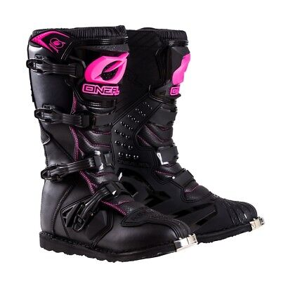 O'Neal Rider Womens Motocross Off Road Dirt Bike ATV Racing Riding Boots