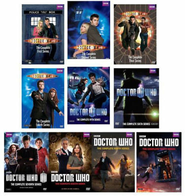 Doctor Who: Complete Series Season 1-10 DVD 55-Disc Set 1 2 3 4 5 6 7 8 9 10 New