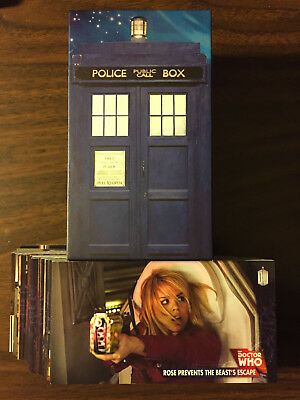 2016 Topps Doctor Who: The Tenth Dr Adventures Widevision Set 88-cards