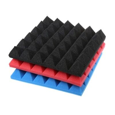 Soundproofing Studio Foam Acoustic Sound Treatment Wedge Tile Absorption 30x30x5