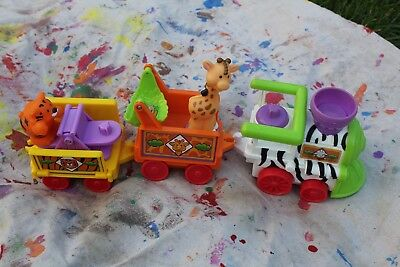 Fisher Price Little People zoo train with sounds