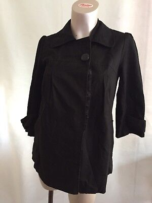 [55] New Look Maternity Black Jacket Size 10