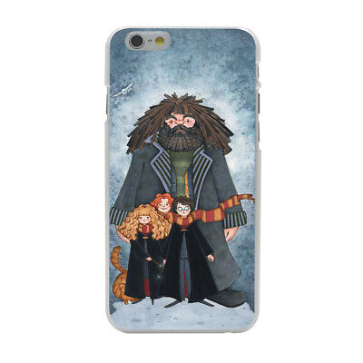 Harry Potter Hermione Ron Hagrid Hogwarts Hard Cover Case For iPhone Galaxy New