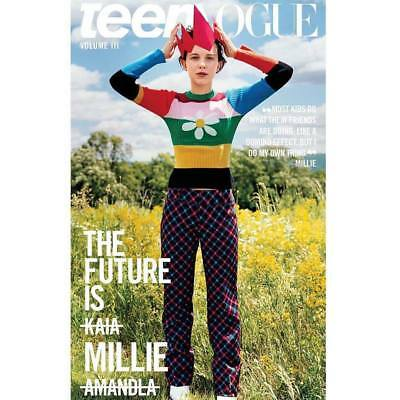 Teen Vogue Magazine Volume 3 - Icons Issue - Millie Bobby Brown
