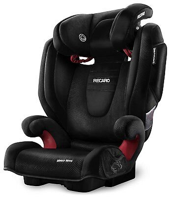 RECARO Monza Nova 2 SEATFIX Child Toddler Car Seat Performance Black Group 2/3