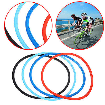 Bike Tire 700x23C Tubeless Solid Explosion Inflatable Fixed Gear Bicycle Tire