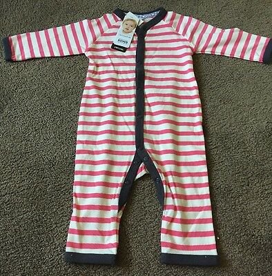 Bonds Baby Girl Boy  Stretchies  Long Onsie. BNWT Size 00 Discounted As Marked