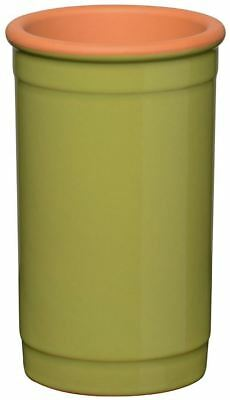 Clay Terracotta Wine Cooler Bottles Chilled Lime Green Finish Ideal Most Bottles