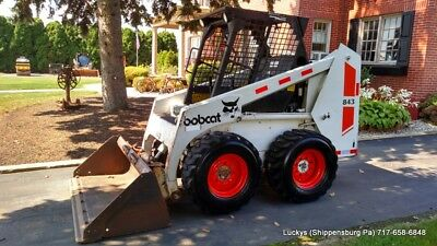"Bobcat 843 Skid Steer Loader 54HP Diesel 66"" Bucket Fully Serviced NICE UNIT"