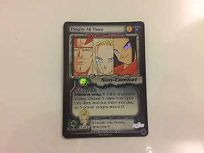 Dragonball Dbz Preview 4 They're All There Cell Saga Foil Limited