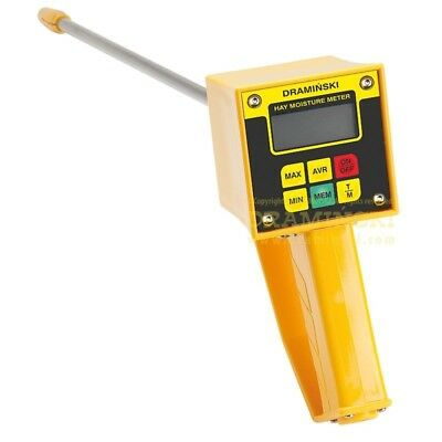 Draminski Hay Straw Moisture Tester with Attached Probe HMMFIX