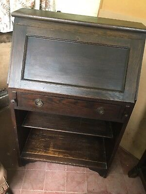 Antique Oak Writing Desk Circa 1900