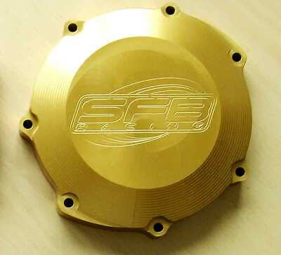 Yamaha YZF WR WRF YZ 400 5BE (1998-1999) SFB Racing Billet Clutch Cover in GOLD