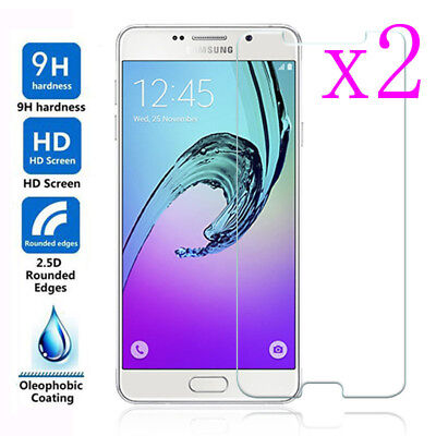 2Pcs Ultrathin Tempered Glass Screen Protector Film For Samsung Galaxy A3 A5 A7