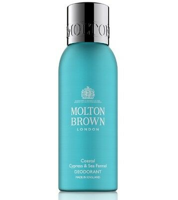 Molton Brown Coastal Cypress and Sea Fennel Deodorant Spray 150ml New
