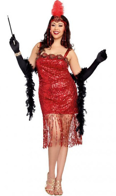 Ain't She Sweet Flapper Costume - Plus Size