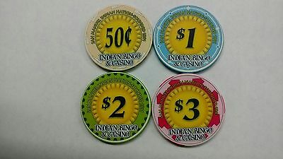 San Manuel Casino chips  -  extremely rare/Less than 125 chips in circulation