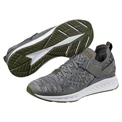 189904 07] MENS PUMA IGNITE Evoknit Lo Grey Training