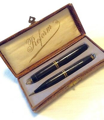 Vintage Reform Miniature Fountain Pen & Pencil. Circa ?1940's. Made in Germany