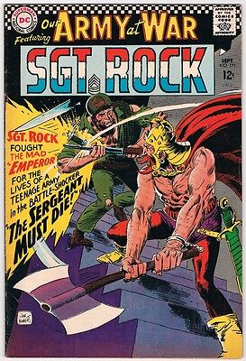 Our Army At War - Sgt. Rock #171 - (F/vf) Rare - Hard To Find - Joe Kubert!!