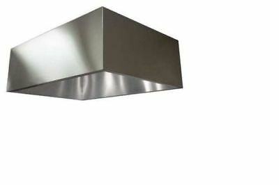 Commercial Kitchen Exhaust Hood, SS, 72 in