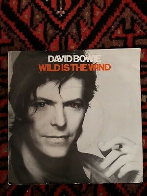 "RARE VINYL 7"" SINGLE David Bowie Wild is the Wind/Golden Years collectable"