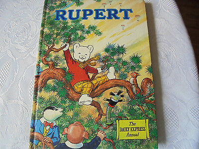 Rupert Annual 1973 not priced clipped vgc