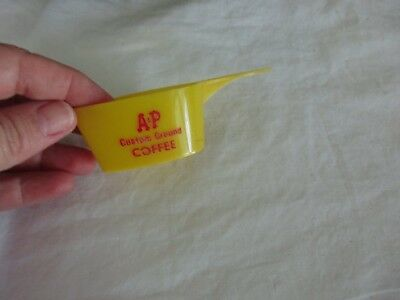 1 Vintage A&P Coffee Scoop Custom Ground Coffee 3/4 Cup Measure Grocery Store