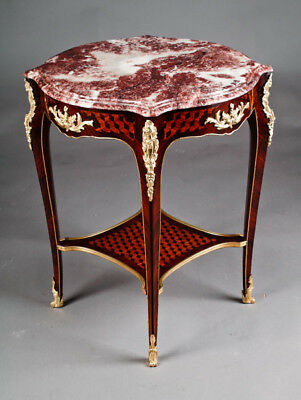 edleer salon Table d'appoint table avec dessus Louis XV STYLE