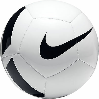 FOOTBALL/ SOCCER BALL NEW FOR 2017 NIKE PITCH 2nd TIER BALL SIZE 5 WHITE/BLACK