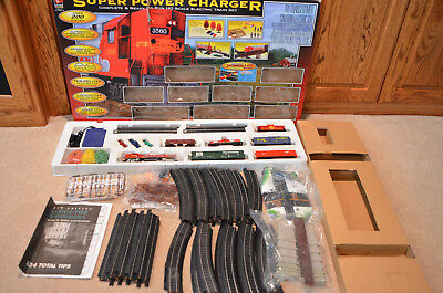Life Like Trains Ho Scale Railroad Super Power Charger R-T-R Electric Train Set