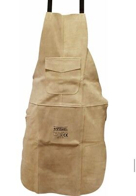 Premium Green Leather Welders / Welding / Carpenters / Gardeners Safety Apron