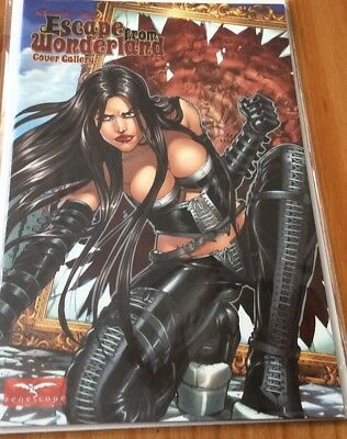 Zenescope Comics - ESCAPE FROM WONDERLAND - Cover Gallery - Grimm Fairy Tales